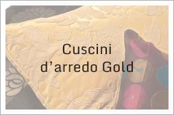 Cuscini d'arredo Gold